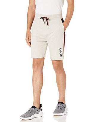 HUGO BOSS Men's Contemporary Cotton Lounge Shorts