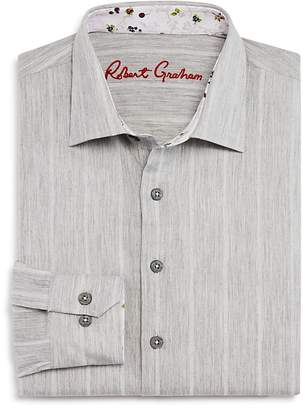 Robert Graham Boys' Striped Dress Shirt - Big Kid