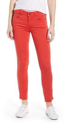 Paige Transcend - Verdugo Raw Hem Ankle Skinny Jeans