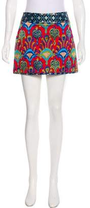 Andrew Gn Embroidered Mini Skirt