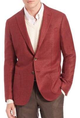 Saks Fifth Avenue COLLECTION Wool & Silk Sportcoat