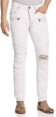 Hudson Blinder Biker Super Slim Fit Jeans in Extracted White