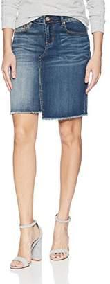 Vintage America Blues Women's Wonderland Midi Denim Skirt,6