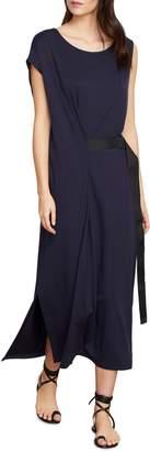 Habitual Pippa Belted Stretch Cotton Blend Wrap Dress