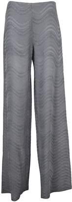 M Missoni Missoni Wave Pattern Trousers