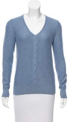 Loro Piana Bady Cashmere V-Neck Sweater