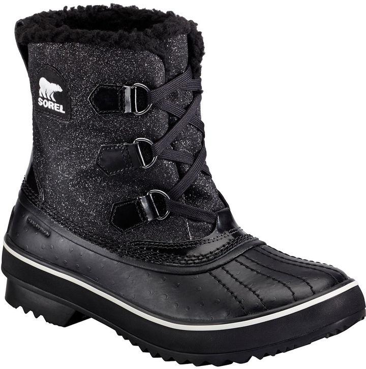 Sorel Tivoli Glitter Leather Boots