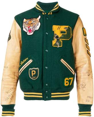 Polo Ralph Lauren embroidered bomber jacket