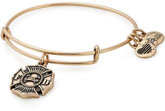 Alex and Ani (アレックス アンド アニ) - Alex and Ani Firefighter Emblem Adjustable Wire Bangle
