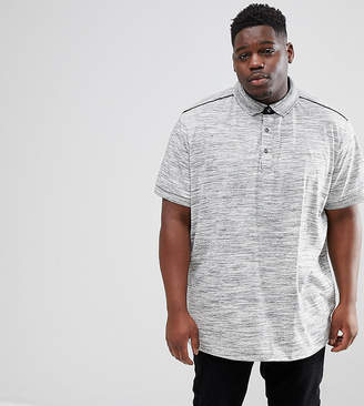 Loyalty And Faith PLUS Marl Polo Shirt