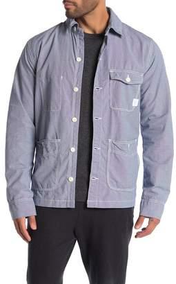 Save Khaki Chore Micro Check Coat