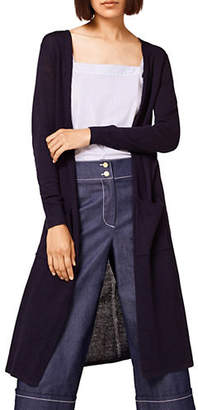 Esprit Open-Front Cotton Cardigan