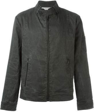 Isabel Benenato front zip pocket jacket