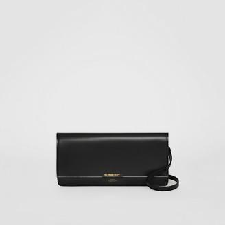 bc18e9f14e Burberry Horseferry Print Leather Bag with Detachable Strap