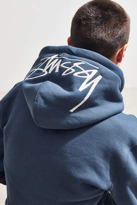 Stussy Stock Applique Hoodie Sweatshirt
