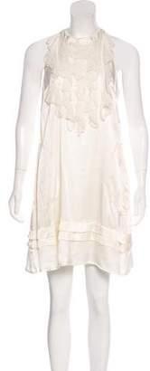 Chelsea Flower Silk Mini Dress