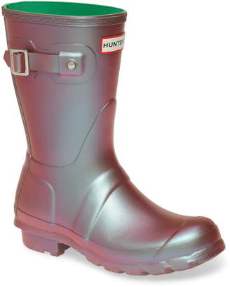 Hunter Short Nebula Rain Boot