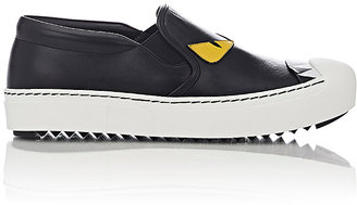 Fendi Women's Buggies Slip-On Sneakers $650 thestylecure.com