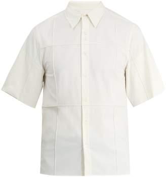 Wales Bonner Artist-print short-sleeved shirt