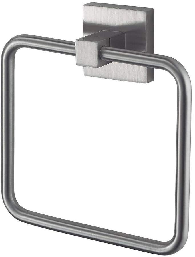 Haceka Mezzo Tec Towel Ring - Chrome