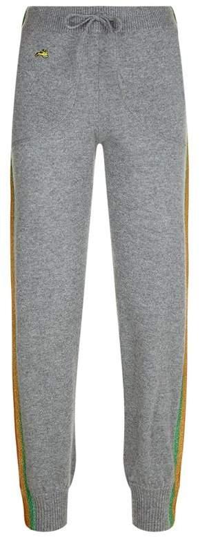 Lurex Stripe Sweatpants