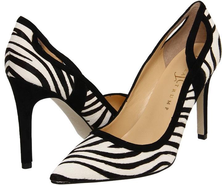 Ivanka Trump Gainey (Zebra Pony) - Footwear