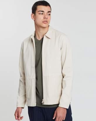 Folk Zip Through Shirt Jacket