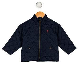 Polo Ralph Lauren Boys' Quilted Embroidered Jacket