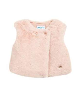 Mayoral Faux-Fur Vest, Size 6-36 Months
