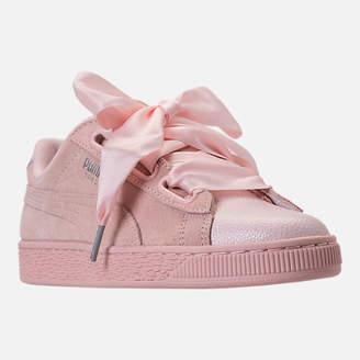 ... Puma Women s Suede Heart Bubble Casual Shoes 2bbbaca70