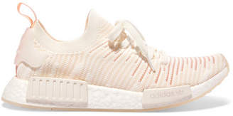 17557eedc adidas Nmd r1 Rubber-trimmed Primeknit Sneakers - Off-white