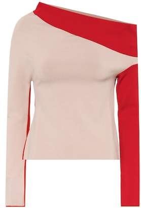Haider Ackermann Draped knit top