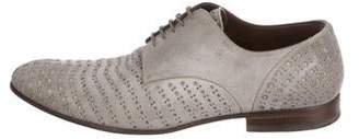Dolce & Gabbana Blistered Suede Derby Shoes