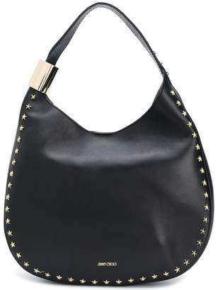 Jimmy Choo Stevie studded hobo bag