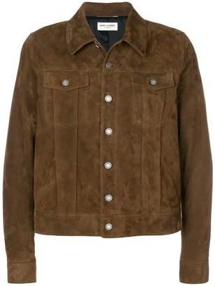 Saint Laurent button-down fitted jacket