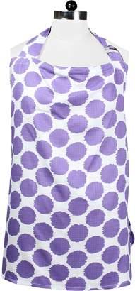 Bacati Ikat Dots Muslin Nursing Privacy Cover