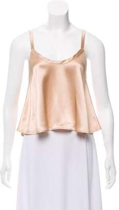 Veda Satin Crop Top