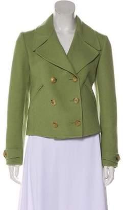 Bottega Veneta Cashmere Long Sleeve Jacket