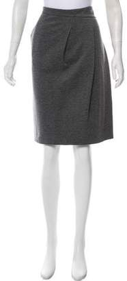 Akris Punto Straight Knee-Length Skirt