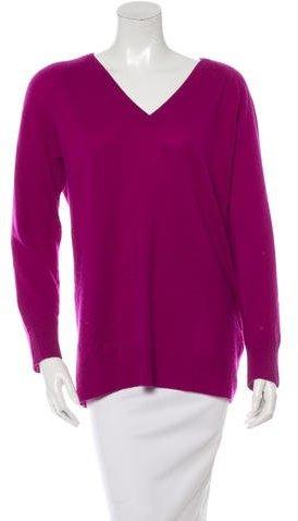 EquipmentEquipment V-Neck Cashmere Sweater