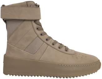 Fear Of God Beige Leather Boots