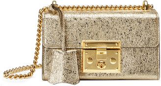 Padlock metallic shoulder bag $1,650 thestylecure.com