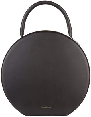 Mansur Gavriel Leather Circle Top Handle Bag