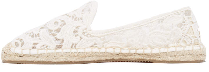 Soludos Tulip Lace Smoking Slipper Espadrilles 3