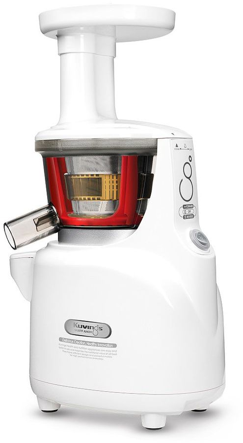 Kuvings White Pearl Silent Upright Juicer