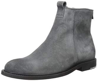 HUGO BOSS BOSS Orange by Men's Cultural Roots Suede Zip Fashion Boot