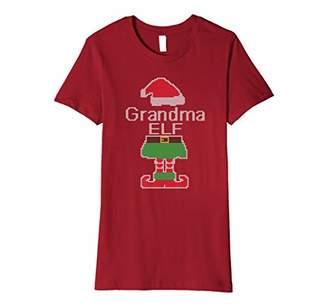 grandma Elf Christmas shirt