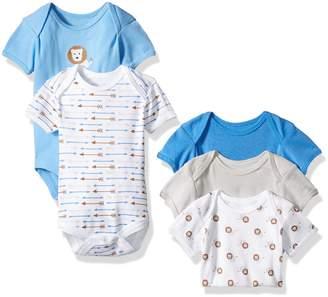 Rene Rofe Baby Boys' 5 Piece Shortsleeve Bodysuit Set