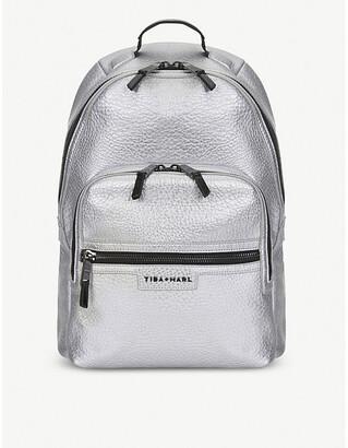 Elwood Tiba & Marl changing backpack, Silver