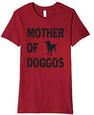 Mom of Dog Shirt Mother Of Doggos Short Sleeve T-shirt